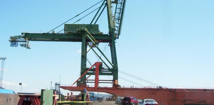 Retrofitting of Wharf Cranes and Conveyors